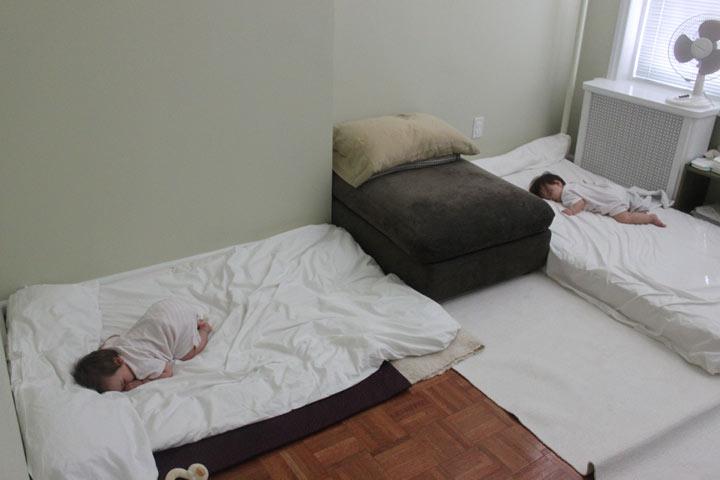 Floor Bed Montessori On The Double