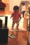 14-Month Olds Can Clean