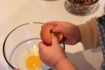 Video: Making Scrambled Eggs on an Electric Skillet with Your Toddlers