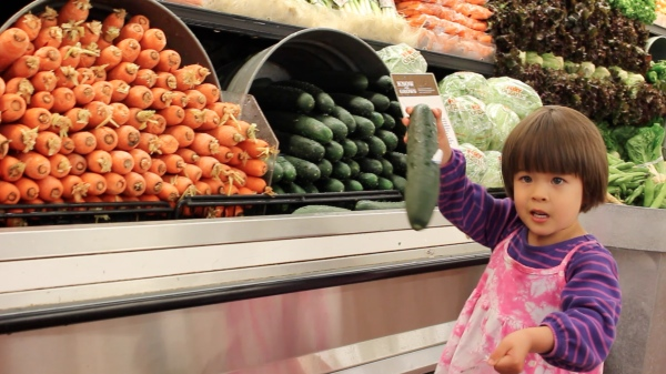 Grocery Shopping with 3-Year-Old Twins